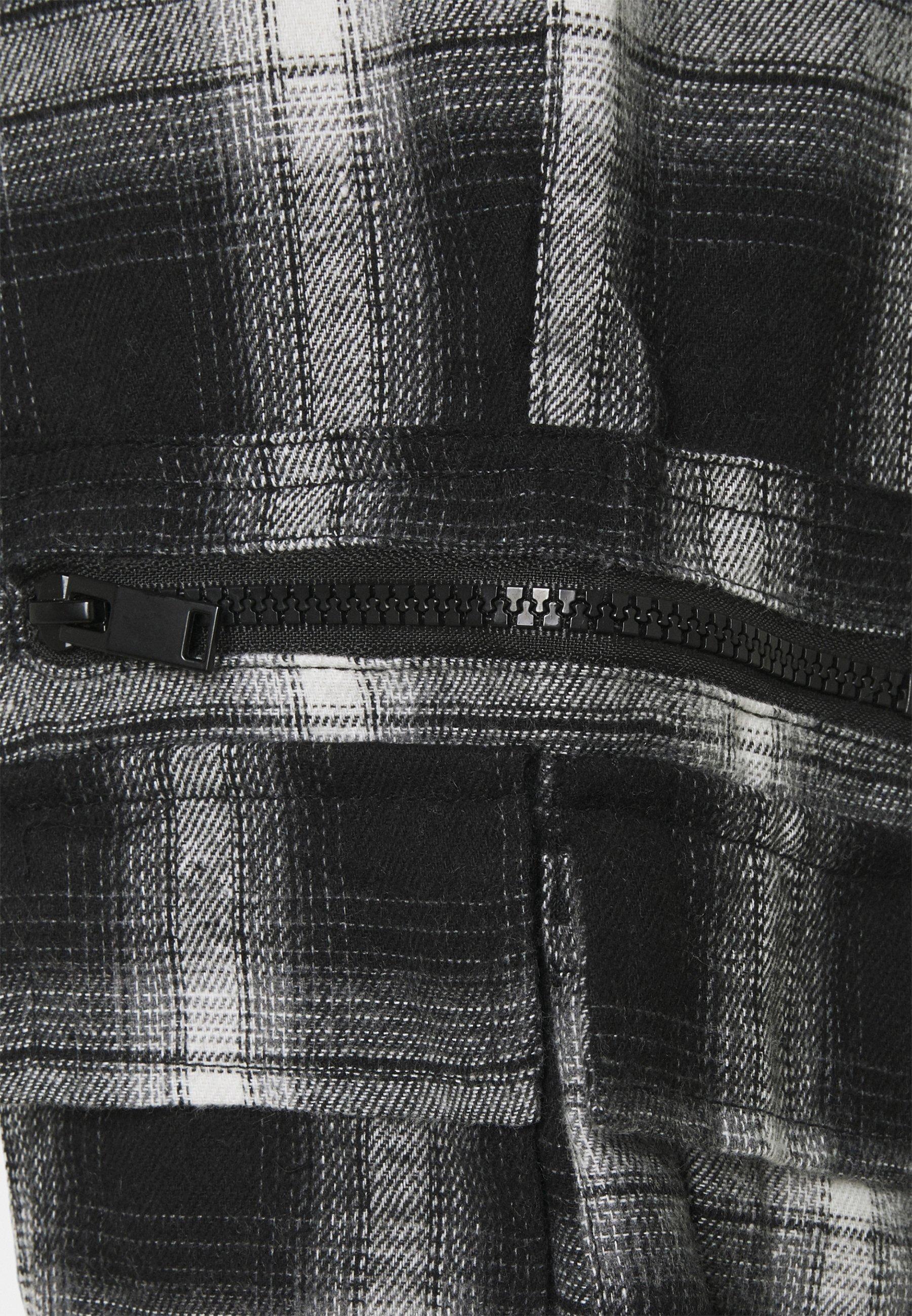 Homme TARTAN - Pantalon cargo