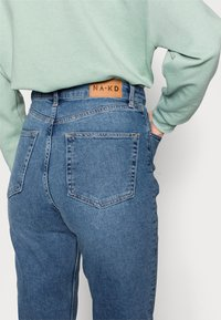 NA-KD Tall - MOM  - Jeans baggy - light blued - 3