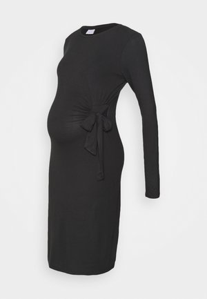 MLONA  DRESS  - Robe en jersey - black