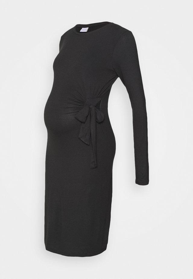 MLONA  DRESS  - Jerseyjurk - black