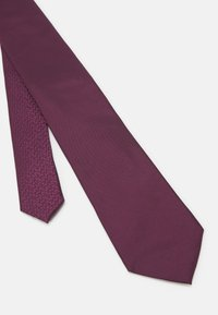 Michael Kors - SOLID  - Tie - mottled purple - 3