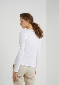DRYKORN - ALESA - Long sleeved top - white - 2