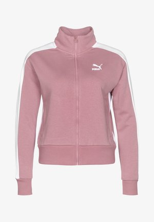 Training jacket - light pink, white
