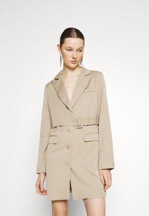 BLAZER DRESS - Shift dress - beige