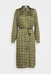 Twist & Tango - LISA DRESS - Košilové šaty - greyish green - 5