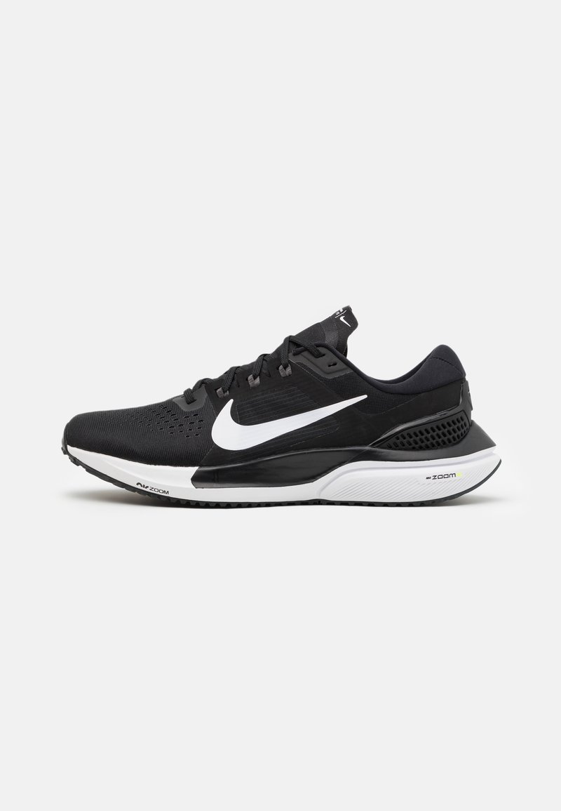 Nike Performance - AIR ZOOM VOMERO 15 - Neutral running shoes - black/white/anthracite/volt
