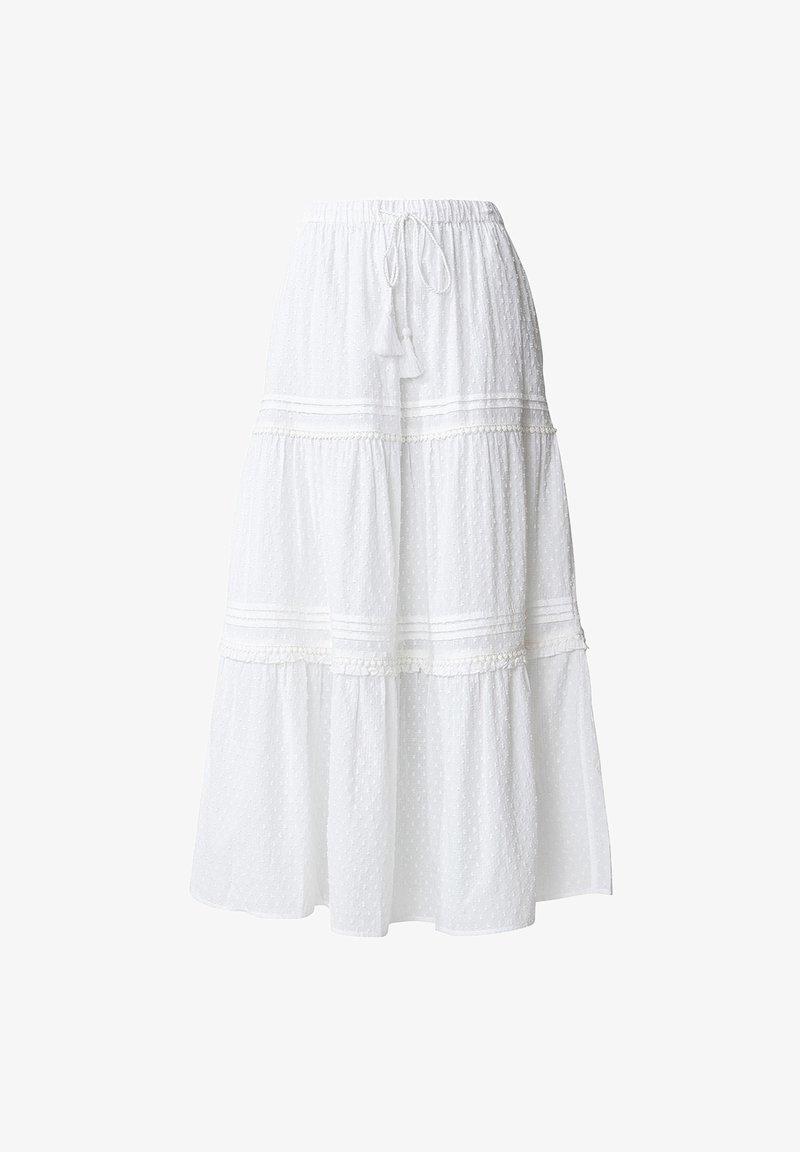 Indiska - A-lijn rok - white