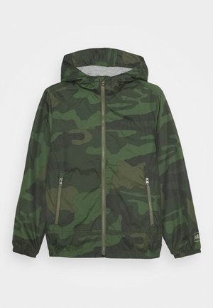 BOYS CAMO - Lehká bunda - green