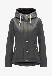Schmuddelwedda - ANORAK - Outdoor jacket - olive melange - 4