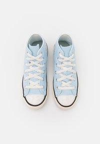 Converse - CHUCK TAYLOR ALL STAR UV GLITTER UNISEX - Sneakers hoog - chambray blue/egret/black - 3