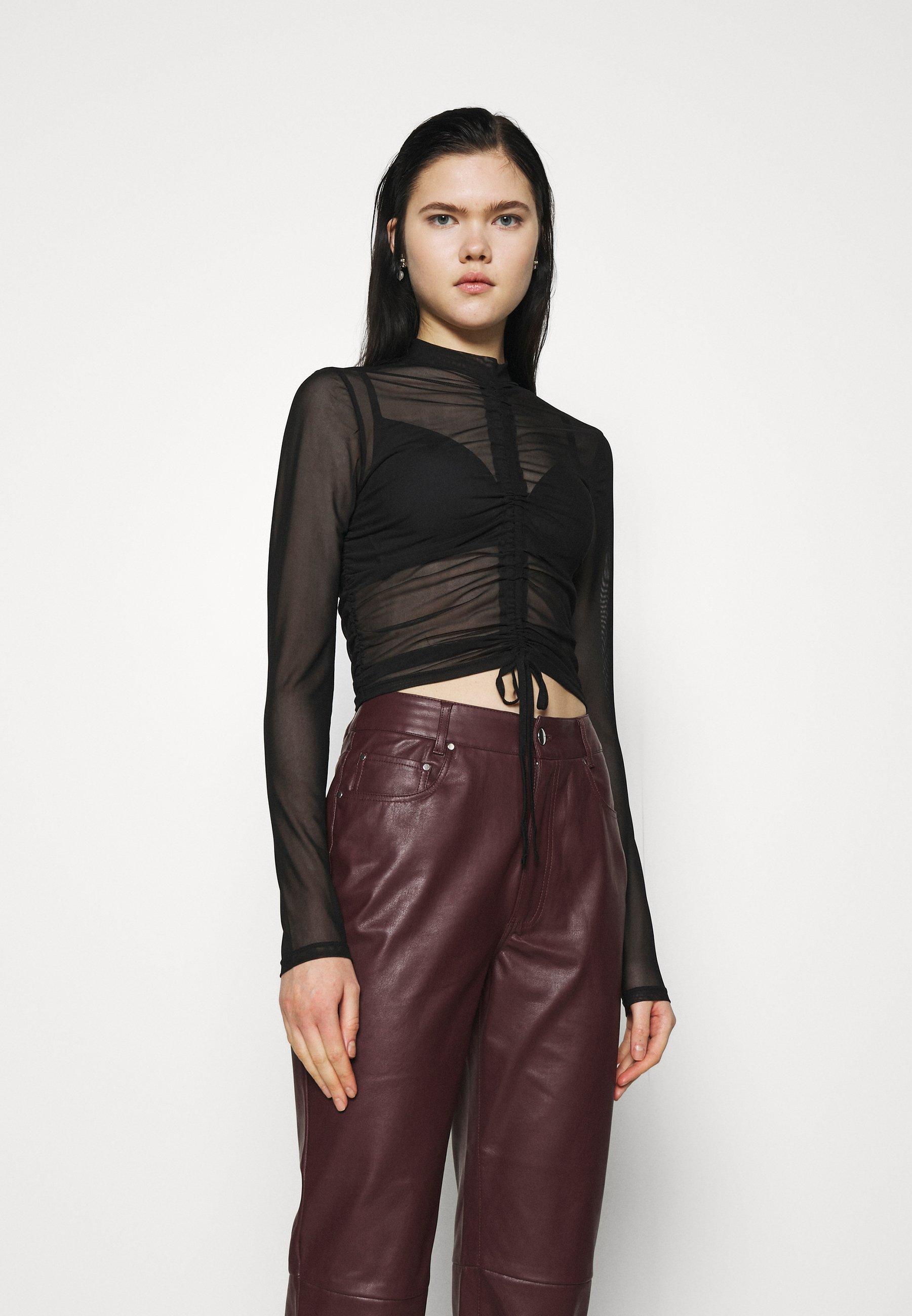 Women DRAWSTRING - Long sleeved top