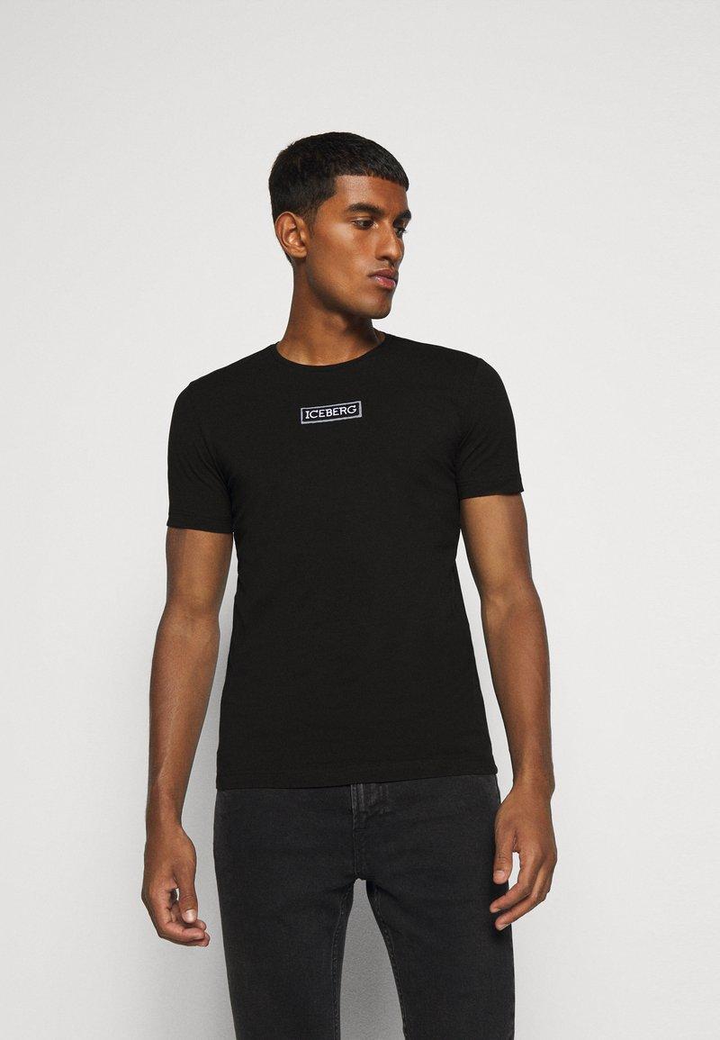 Iceberg - T-shirt con stampa - nero