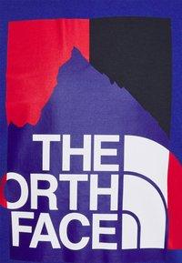The North Face - KARAKORAM GRAPHIC TEE - Long sleeved top - blue - 2