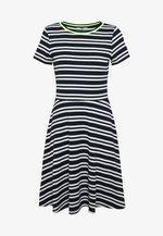 STRIPE - Jumper dress - navy