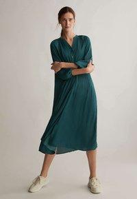 OYSHO - Shirt dress - evergreen - 1