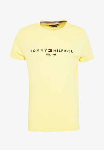 LOGO TEE - Camiseta estampada - yellow