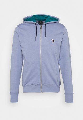 MENS REGULAR FIT ZIP HOODY - Zip-up sweatshirt - bright blue