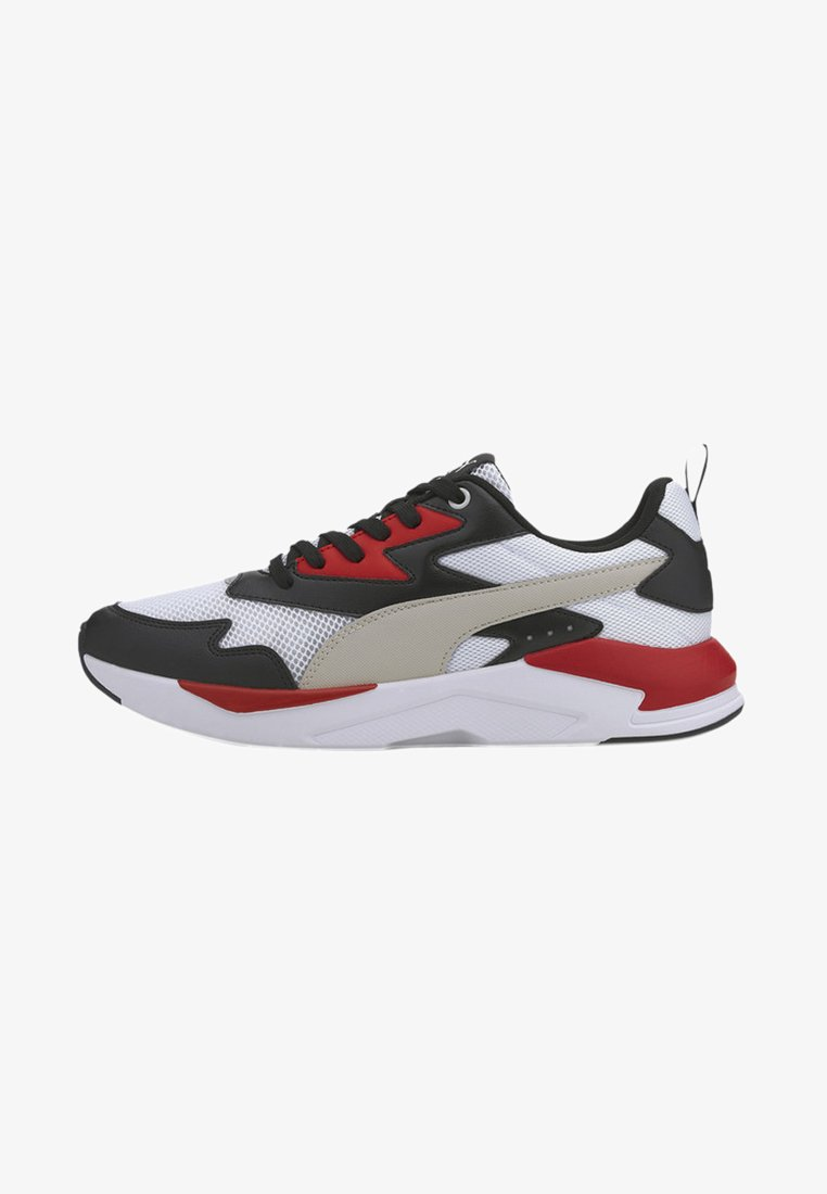 Puma - X-RAY LITE  - Trainers - black-gray violet-white-red