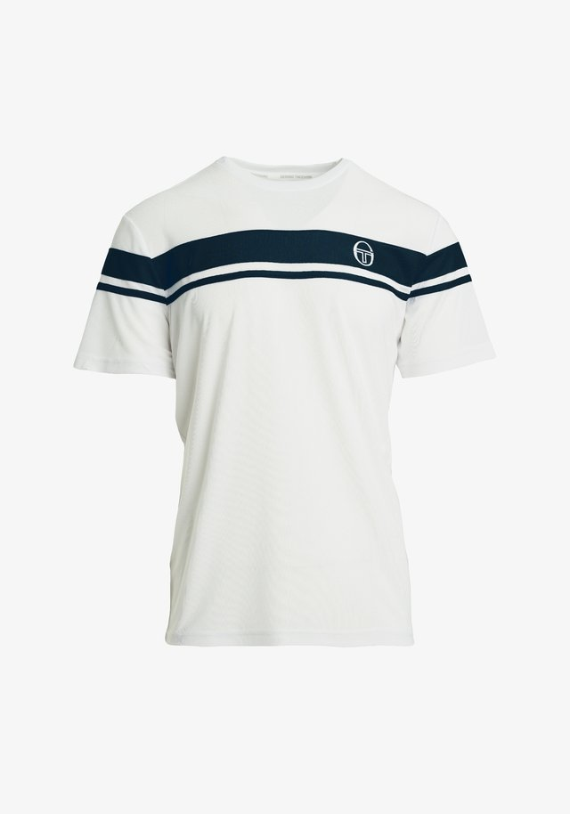 YOUNG LINE PRO  - T-shirt con stampa - white/navy
