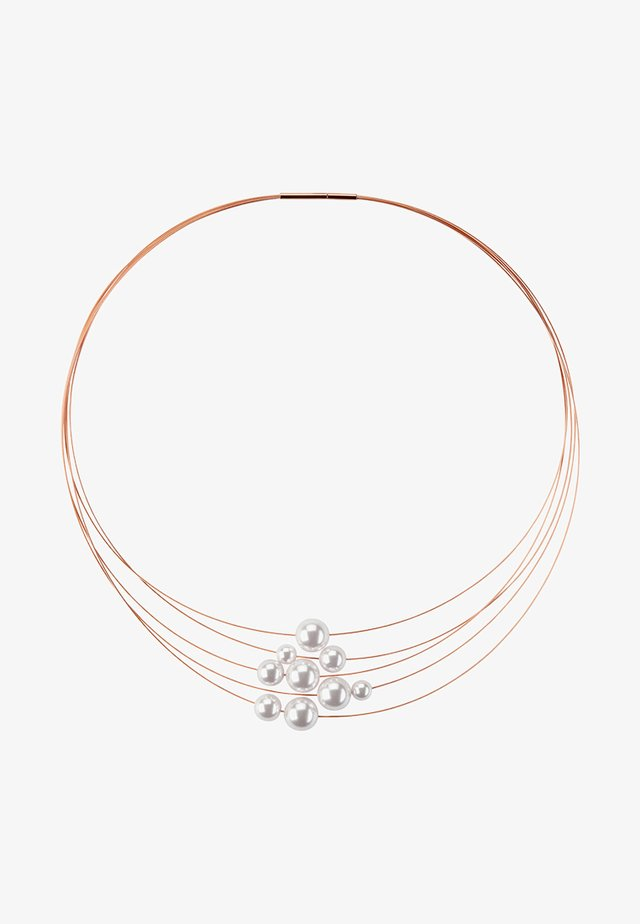 KETTE FLORERE - Ketting - rose gold-coloured
