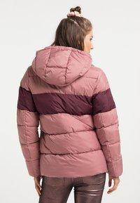 myMo - Winter jacket - rosa bordeaux - 2