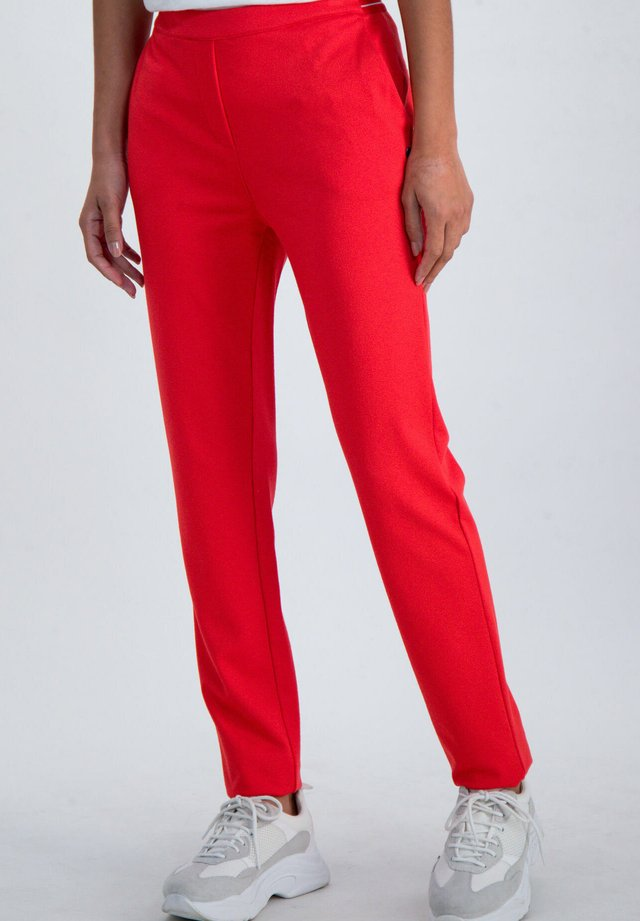 Broek - poppy red