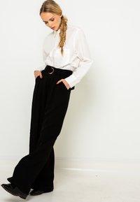 Camaieu - Pantalon classique - noir - 4