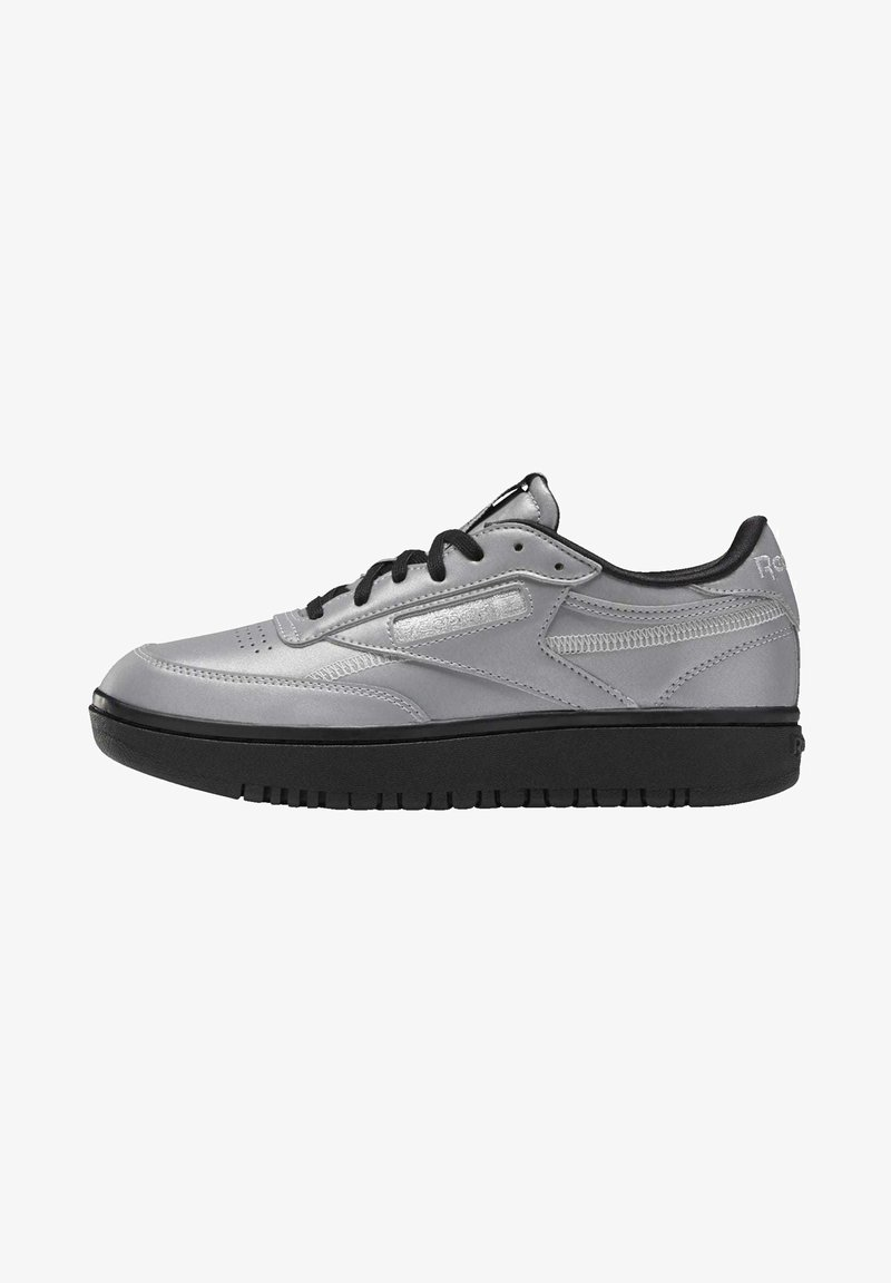 Reebok Classic - CLUB C DOUBLE - Trainers - silver