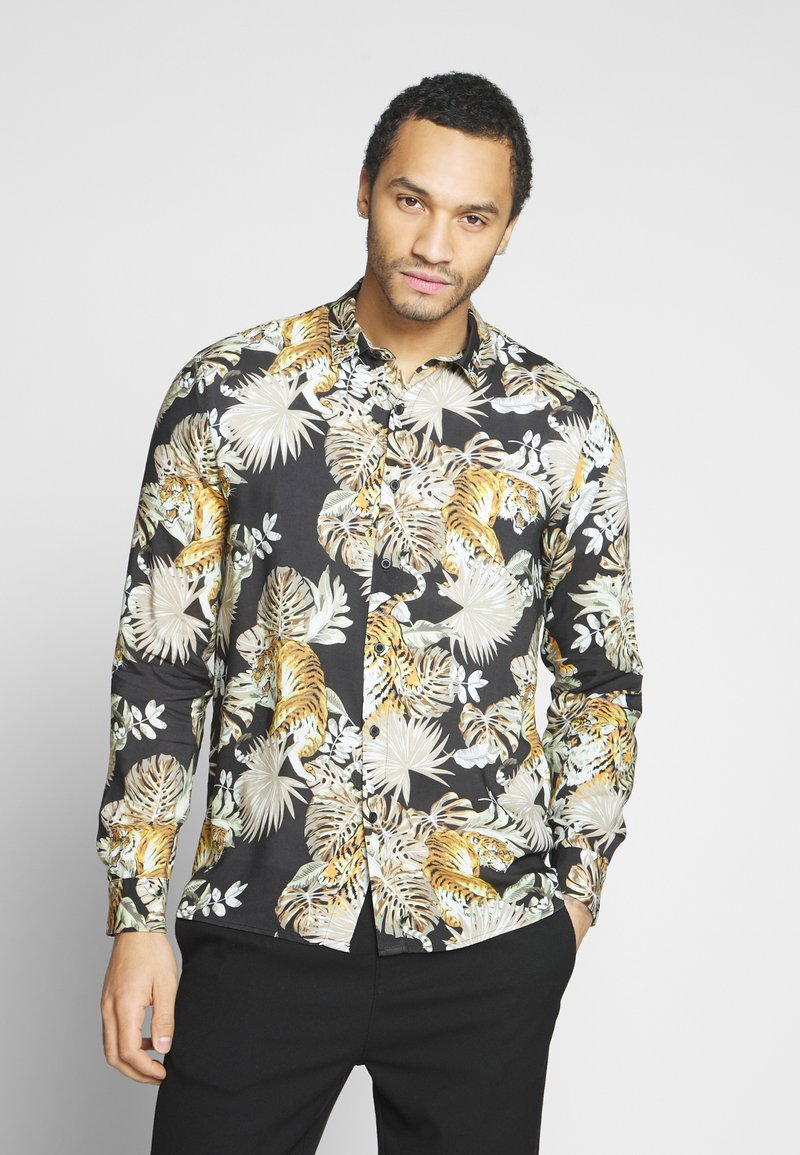 Topman - TIGER NORSEN - Overhemd - khaki