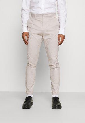 ONSMARK LIFE NEW DROP TAPPANT - Pantalon classique - chinchilla