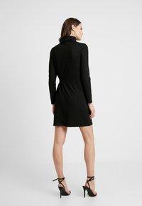 Great Plains London - TAMARA TIE - Jumper dress - black/gold - 3