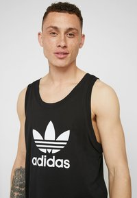adidas Originals - TREFOIL TANK - Top - black - 5