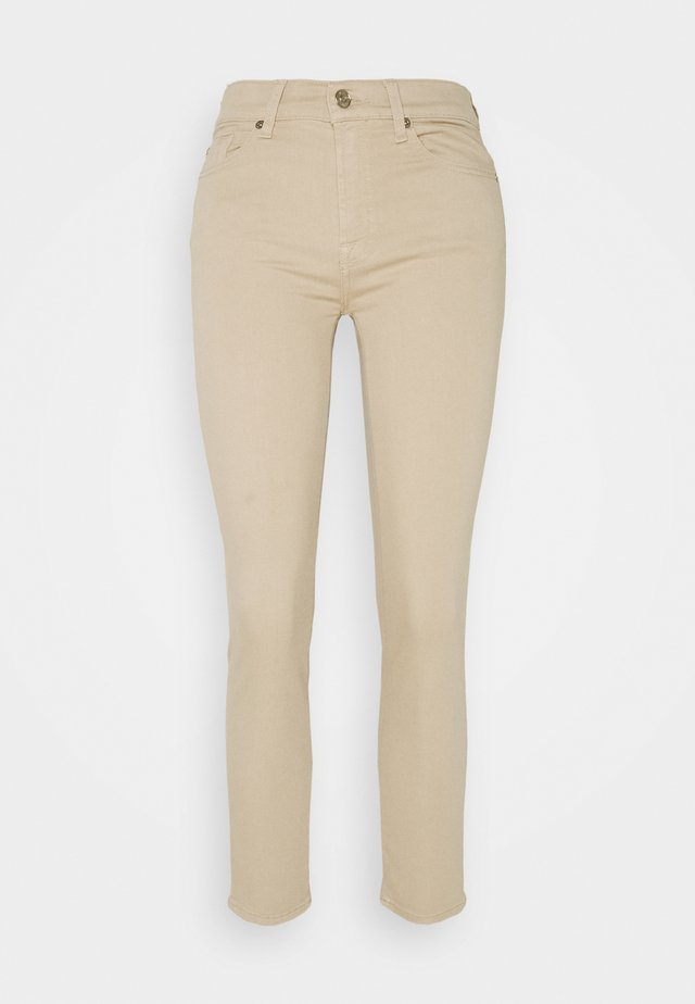 ROXANNE ANKLE COLORED BAIR  SANDCASTLE - Jeansy Skinny Fit - beige