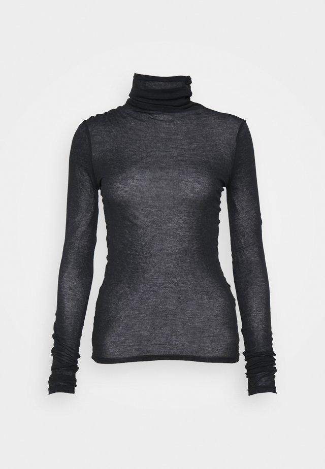 MASSACHUSETTS - T-shirt à manches longues - noir