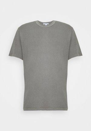 CREW NECK - Basic T-shirt - mottled grey