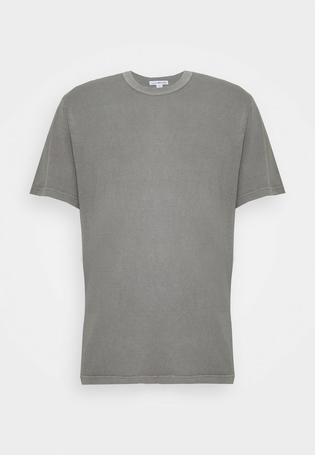 CREW NECK - T-shirt basic - mottled grey