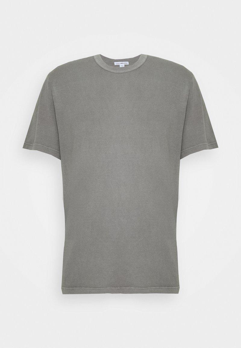 James Perse - CREW NECK - T-shirt basic - mottled grey