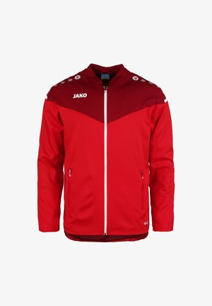 Training jacket - rot / weinrot