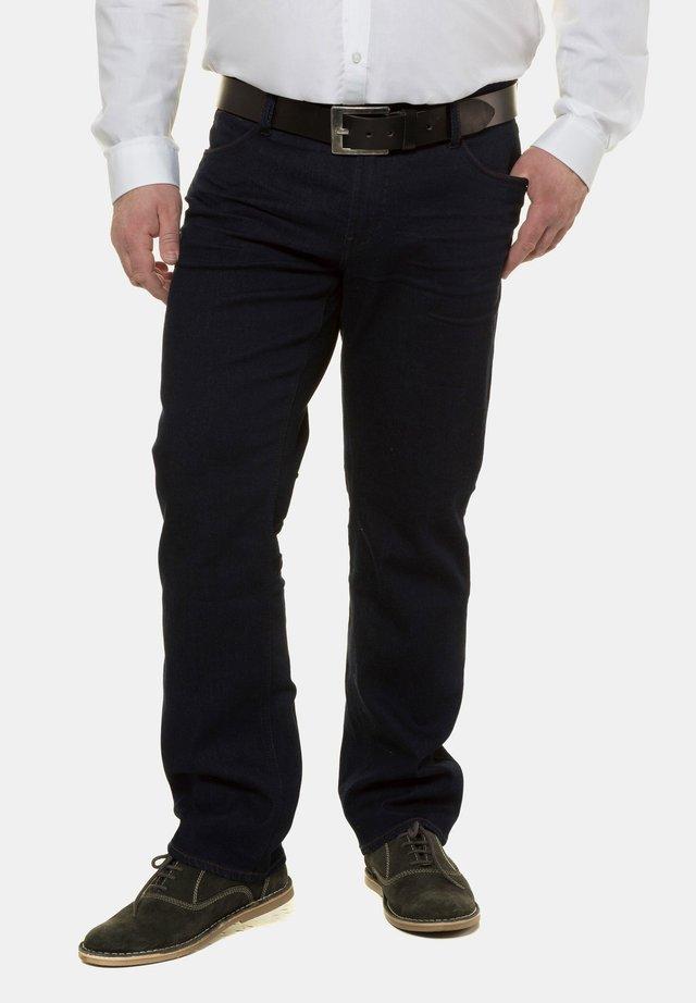 HERREN GROSSE GRÖSSEN BIS 70, JEANSHOSE, 5-POCKET, REGULAR - Straight leg jeans - darkblue