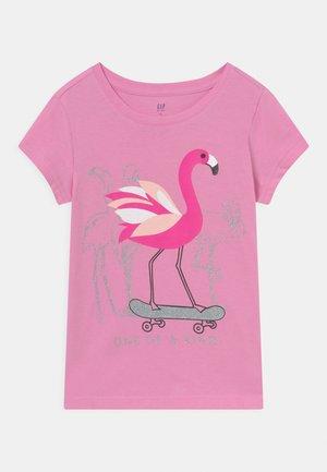 GIRL - Print T-shirt - pink