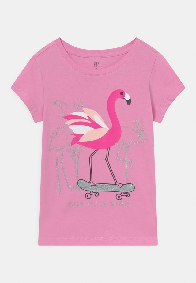 GIRL - T-shirt con stampa - pink