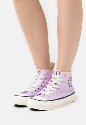 VEGAN BRITT RETRO  - High-top trainers - pink/ombre