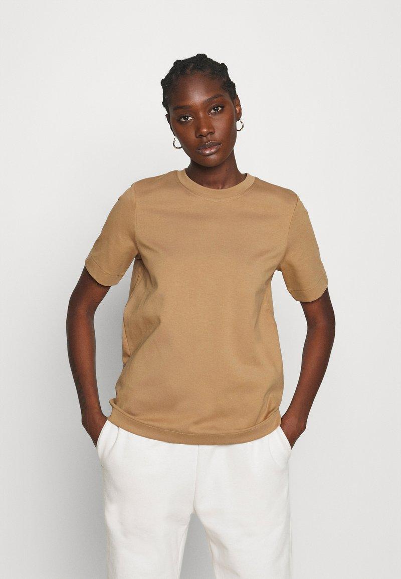 ARKET - Jednoduché triko - beige