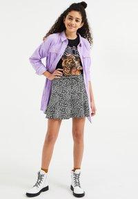 WE Fashion - SKORT - Mini skirt - black - 1