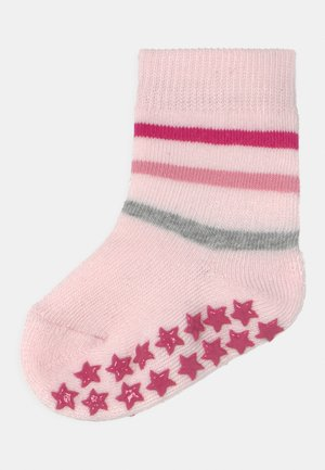 MULTI STRIPE UNISEX - Socks - powder rose