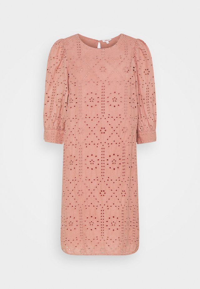 Sukienka letnia - blush