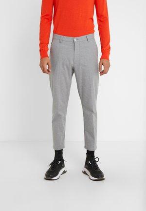 Trousers - open grey