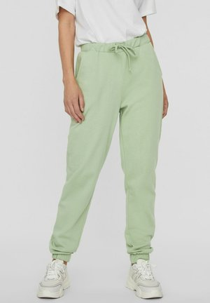 Tracksuit bottoms - laurel green
