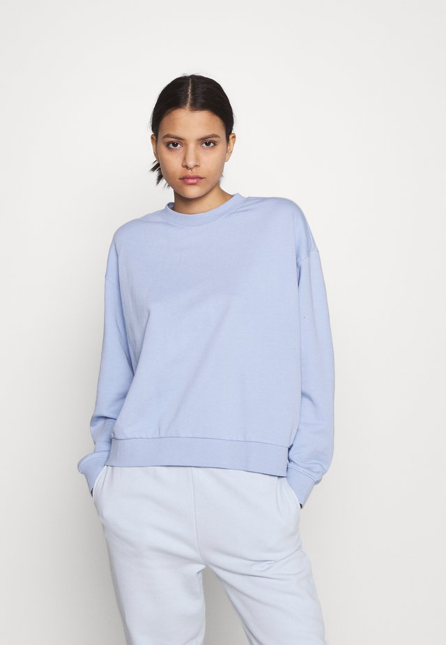 HUGE CROPPED - Bluza - light lilac blue