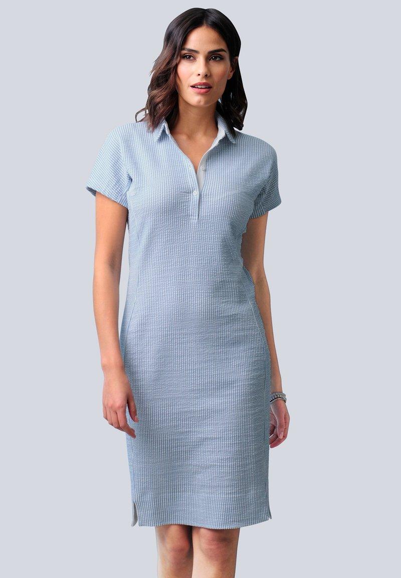 Alba Moda - Shirt dress - hellblau weiß